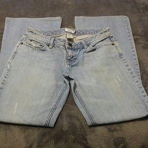 Calvin Klein Jeans slightly distressed light wash